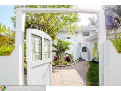 Pompano Beach Single Family Home For Sale: 404 Briny Ave