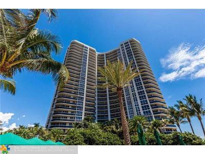 Condo/Townhouse For Sale: 3200 N Ocean Blvd #307