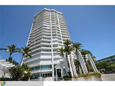 Broward County Condo/Townhouse For Sale: 1700 S Ocean Blvd #16B