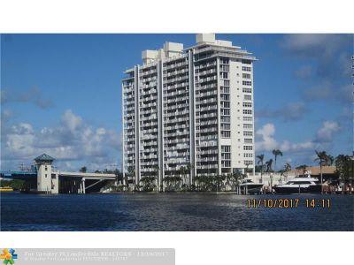 Fort Lauderdale Condo/Townhouse For Sale: 2800 E Sunrise Blvd #10B