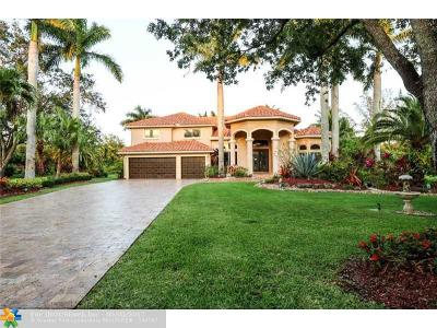 Coral Springs Single Family Home For Sale: 7504 NW 47th Dr