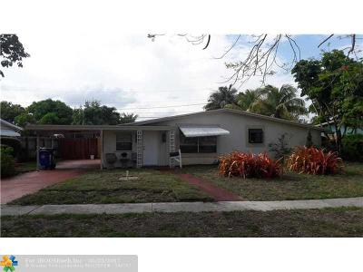 Lauderdale Lakes Single Family Home For Sale: 4301 NW 33rd St