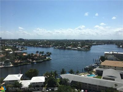 Pompano Beach Condo/Townhouse For Sale: 1200 Hibiscus Ave #1601