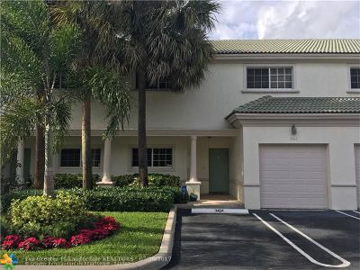Coral Springs Condo/Townhouse Backup Contract-Call LA: 3464 NW 99th Way #3464