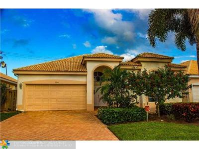 Delray Beach Single Family Home For Sale: 7548 Eagle Point Dr