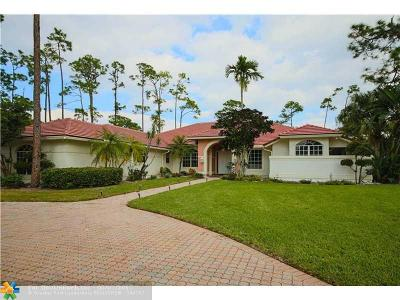 Coral Springs Single Family Home Backup Contract-Call LA: 5455 E Leitner Dr