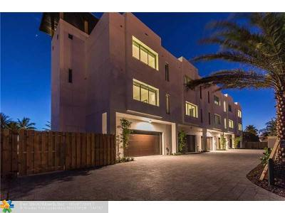 Broward County Condo/Townhouse For Sale: 232 Shore Ct #232