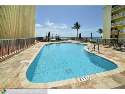 Hillsboro Beach Condo/Townhouse For Sale: 1167 Hillsboro Mile #305