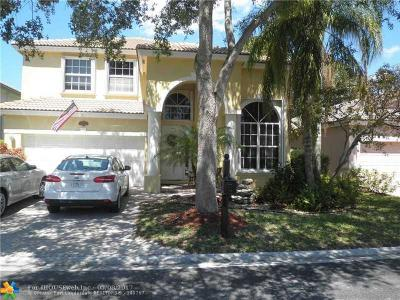 Coral Springs Single Family Home For Sale: 1020 NW 117th Ave