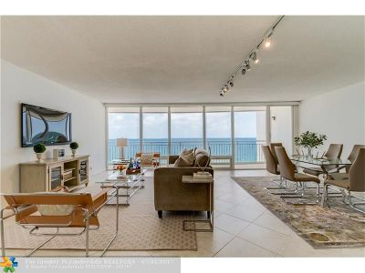 Pompano Beach Condo/Townhouse Backup Contract-Call LA: 1390 S Ocean Blvd #10E
