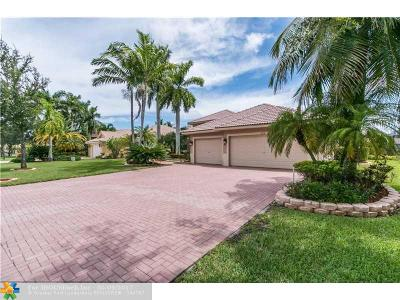 Parkland Single Family Home For Sale: 6778 NW 110th Way