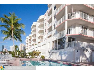 Sunny Isles Beach Condo/Townhouse For Sale: 18260 N Bay Rd #410