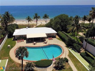 Lauderdale By The Sea Single Family Home For Sale: 1431 S Ocean Blvd #28
