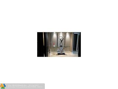 Fort Lauderdale Condo/Townhouse For Sale: 3100 N Ocean Blvd #407
