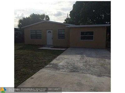 Delray Beach Single Family Home For Sale: 312 SW 11th Ave