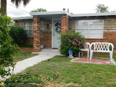 West Palm Beach Single Family Home For Sale: 122 2nd St
