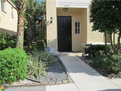 Coconut Creek Condo/Townhouse For Sale: 4730 NW 57th Pl #4730
