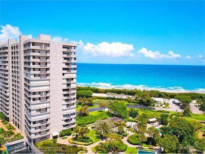 Boca Raton Condo/Townhouse For Sale: 4301 N Ocean Blvd #306