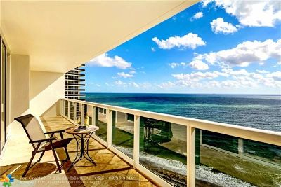 Hallandale Condo/Townhouse For Sale: 1850 S Ocean Dr #2203