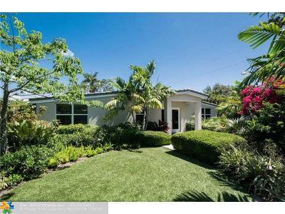 Fort Lauderdale Single Family Home For Sale: 1779 NE 15th St