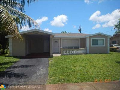 Lauderdale Lakes Single Family Home Backup Contract-Call LA: 3580 NW 34th Way