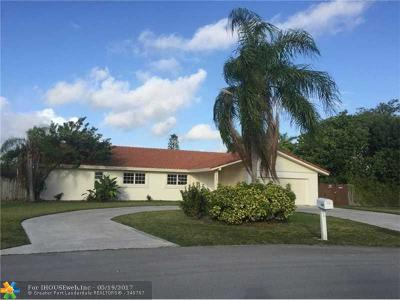 Miami Single Family Home For Sale: 12820 SW 96th Ave