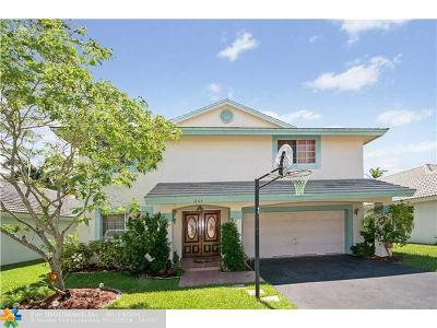 Sunrise Single Family Home For Sale: 12118 NW 35th St