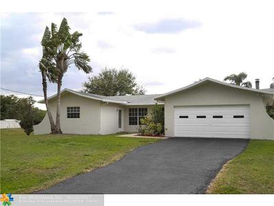 Southwest Ranches Single Family Home For Sale: 5001 SW 164 Ter