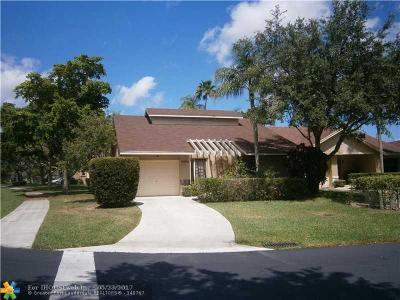 Coconut Creek Single Family Home For Sale: 2464 Episa Ave