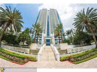 Hollywood Condo/Townhouse For Sale: 3101 S Ocean Dr #505