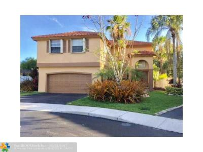 Sunrise Single Family Home For Sale: 12650 NW 11th Pl