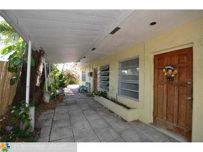 Hollywood Multi Family Home For Sale: 1636 Wilson St