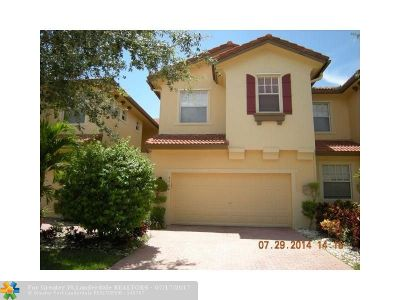 Broward County Condo/Townhouse Backup Contract-Call LA: 5764 NW 119th Ter #5764