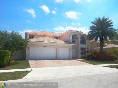 Pembroke Pines Single Family Home For Sale: 13346 NW 14th St