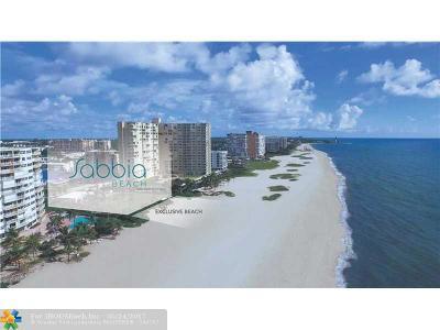 Pompano Beach Condo/Townhouse For Sale: 730 N Ocean Blvd #502