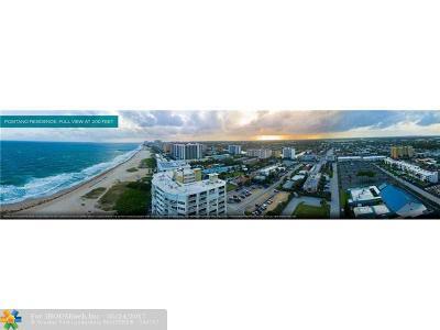 Pompano Beach Condo/Townhouse For Sale: 730 N Ocean Blvd #505