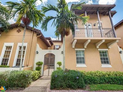 Pembroke Pines Condo/Townhouse For Sale: 857 SW 147th Ter #857