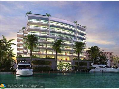 Bay Harbor Islands Condo/Townhouse For Sale: 9261 E Bay Harbor Drive #604