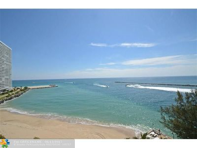 Fort Lauderdale Condo/Townhouse For Sale: 2100 S Ocean Dr #9-A