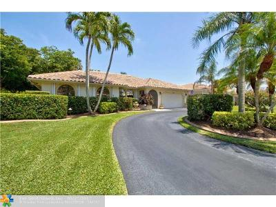 Coral Springs Single Family Home Sold: 5375 NW 65th Ter