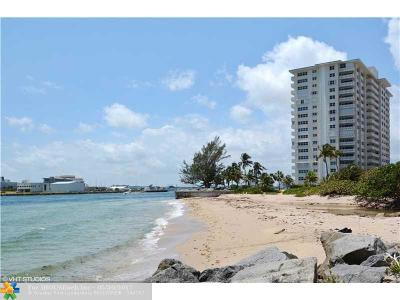 Fort Lauderdale Condo/Townhouse For Sale: 2100 S Ocean Dr #5F