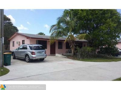 Lake Worth Multi Family Home For Sale: 1029 S D St
