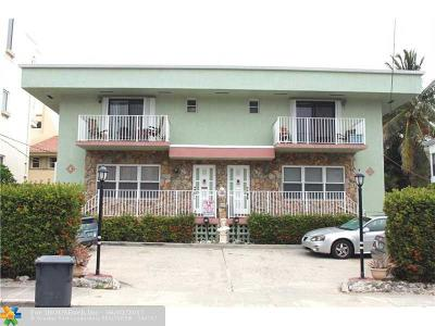Hollywood Multi Family Home For Sale: 318 Jackson St