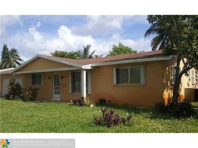Plantation Single Family Home For Sale: 4765 NW 2nd Ct