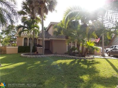Coral Springs Single Family Home Sold: 4612 NW 60th Ln