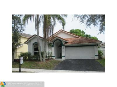 Margate Single Family Home For Sale: 6935 NW 29th Ct