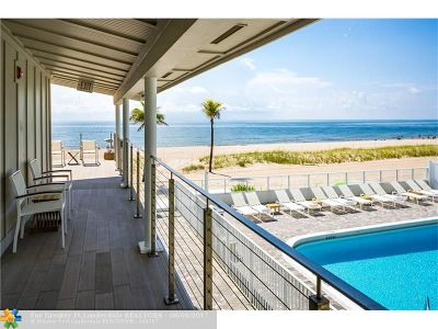 Lauderdale By The Sea Commercial For Sale: 4628 El Mar Dr