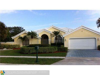 Boca Raton Single Family Home For Sale: 11326 Clover Leaf Cir
