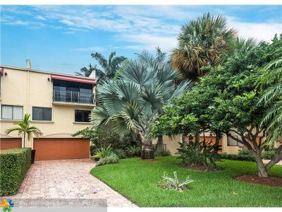 Fort Lauderdale Condo/Townhouse For Sale: 3068 NE 49th St #3068