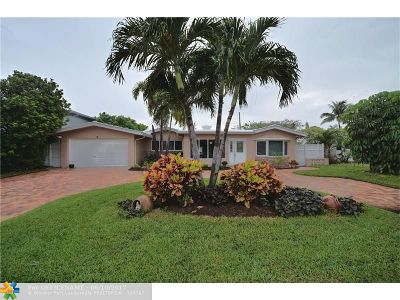 Pompano Beach Single Family Home For Sale: 2516 SE 13th St